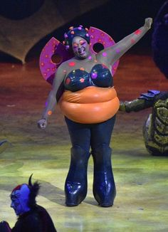 Cirque du Soleil's OVO - a colorful insect community full of energy & wonder  The Ladybug costume