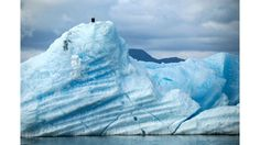 """""""Keeping Watch"""": Eagle on an iceberg south of Juneau Alaska (Submitted by Tyana Burton)"""