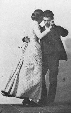 Dancing a Waltz by Eadweard Muybridge, c. 1886.