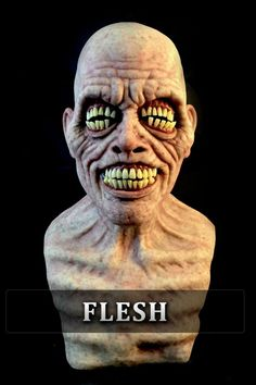 Would you charge this man three times as much for a cleaning? Creepy Images, Creepy Photos, Creepy Art, Zombie Mask, Scary Mask, Horror Masks, Horror Art, Mythological Creatures, Fantasy Creatures