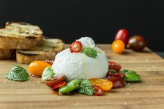 Burrata with Fava Bean, Tomatoes and Mint (2 of 6)