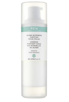 REN Jojoba Microbead Purifying Facial Polish is amazing! It makes my skin look so healthy. Gotta go back to get the full size :)