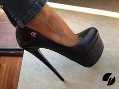 These shoes should never really leave the house...unless you're off to a rendezvous.