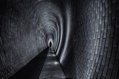 James Bond girl - Tunnel in the Prague castle park