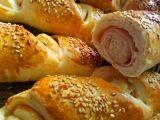 Šunkové rohlíky recept Meat, Chicken, Baking, Food, Bakken, Essen, Meals, Backen, Yemek