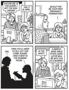 All 6 Censored Doonesbury Cartoons