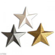 Die cuts Estrellas - Surtido purpurina - 12 pcs - Fotografía n°2