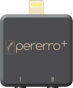 Introducing Pererro+ Key Features: + Up to four switch access control of your iOs device  + Lightning Connector   + Plug & Play adapter   + Utilises Apples accessibility options via iOS switch control  + Turn on/off Voice Over  + no external power supply needed, runs direct from your iOS device  + no Bluetooth, no bluetooth battery drain  + 2x 3.5mm jack sockets & socket for charge through - allowing you to charge & sync your iOS device without disconnecting pererro  + Just 33x33x9mm