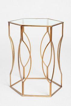 Hexagon Side Table does this look familiar ? @. Ramos-Barajas  @Matty Chuah Frank™ Amos