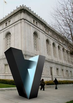 Brand New: Asian Art Museum Turned on its Head in Logo design