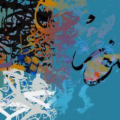 Abstract art- Arabic Calligraphy