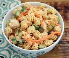 Coconut & Lime // Rachel Rappaport: Summer Chicken Pasta Salad