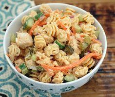 Coconut & Lime // Rachel Rappaport: Summer Chicken Pasta Salad
