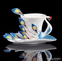 Egyedi porcelán teáscsésze