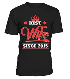 Beautiful T-Shirt For Wife. 2nd Wedding Anniversary Gift .