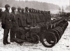 1941, BSA'S M-20