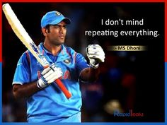 Best MS Dhoni's Quotes about life, success, country and leadership. He wasn't naturally adept at cricket but mastered his incompleteness. He's also a fine thinker, talker. Past Quotes, Motivational Quotes For Life, Life Quotes, Inspirational Quotes, Quotes Motivation, 2011 Cricket World Cup, Dhoni Quotes, Cricket Quotes, Ms Dhoni Photos