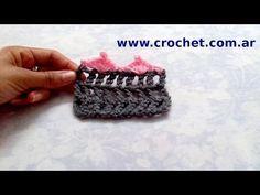 Puntilla N° 64 en tejido crochet tutorial paso a paso. - YouTube