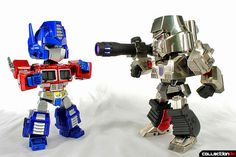 Kids Logic Mecha Nations MN-03 Megatron with MN-01 Optimus Prime