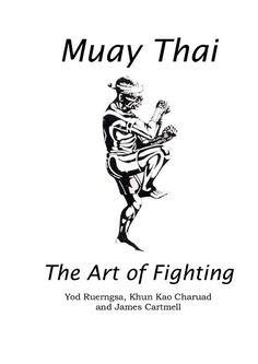 muay thai book