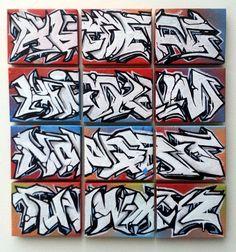 Graffiti Lettering Alphabet, Graffiti Text, Graffiti Piece, Tattoo Lettering Fonts, Graffiti Styles, Lettering Styles, Street Art Graffiti, Font Bubble, Bubble Letters