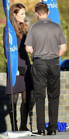 Nov12-14 ~ Catherine, Duchess Of Cambridge Attends A SportsAid Athelete Workshop in West London, England.