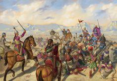 Esta viene sin firma, y la he encontrado como el anterior desastre bizantino: Manzikert