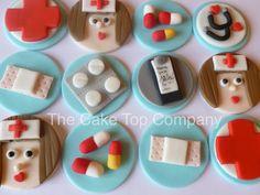 Nurses/hospital/Get well soon edible fondant by TheCakeTopCompany