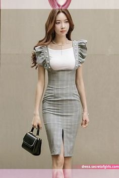 Women's Party Going out Casual/Daily Sexy Simple Bodycon Dress,Striped Color Block Round Neck Knee-length Above Knee Sleeveless Cotton 6187323 2017 – African Fashion Dresses, Hijab Fashion, Fashion Outfits, Womens Fashion, Fashion Trends, Cute Dresses, Beautiful Dresses, Casual Dresses, Dress Skirt