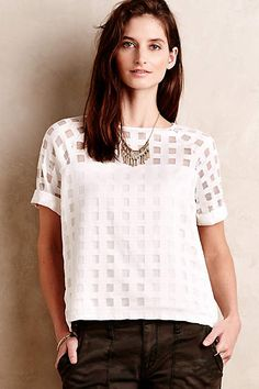 Trouvaille Top - anthropologie.com