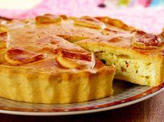 Empad�o com Quatro Queijos - Veja mais em: http://www.cybercook.com.br/receita-de-empadao-com-quatro-queijos.html?codigo=15222
