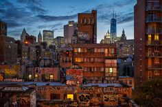 Lower Manhattan at Evening by PJW on 500px
