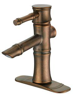 Danze South Sea Distressed Bronze Single Handle Centerset Bathroom Sink Faucet