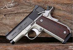 Manufacturer: Kimber Mod. Super Carry Ultra Type - Tipo: Pistol Caliber - Calibre: 45 ACP Capacity - Capacidade: 7 Shot Barrel length - Comp.Cano: 3 Weight - Peso: 27...