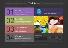 free dream weaver web template