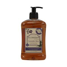 $7.47- A La Maison French Liquid Soap Lavender Aloe - 16.9 fl oz, The traditional recipe dates back to 1820 in France when Marseille soap masters developed the famous French milled process.