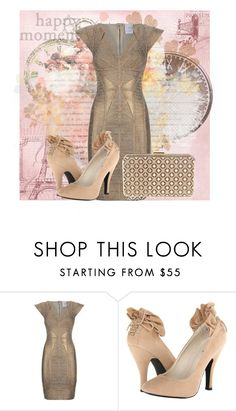 """Untitled #95"" by delucia ❤ liked on Polyvore featuring Hervé Léger, Mojo Moxy, women's clothing, women, female, woman, misses and juniors"