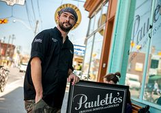 Graham Bower of Paulette's Original Donuts and Chicken