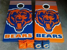 Love to get these for my new place...good to get the guys out for some bags, BBQ, and my Bears!! Bear Down...