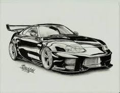 fast and furious cars drawings - Google Search
