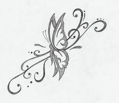 butterfly tattoo by Hilda Wrenn