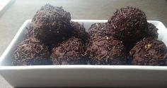 Truffles, Herbs, Vegan, Chocolate, Cooking, Desserts, Recipes, Food, Drinks