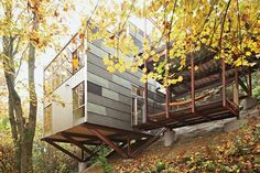 Impossible Lot Yields Imaginative Family Treehouse