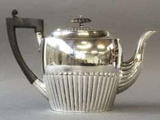Tea pot with classical rib, England approx 1950