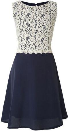 Crochet Lace Aline Dress
