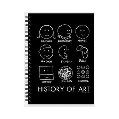 History Of Art Sketchbook (43 BRL) ❤ liked on Polyvore featuring fillers, books, art and black