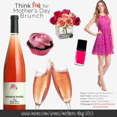 Mom's always pretty in pink. Here's how you help her see the world through rosé-colored glasses.