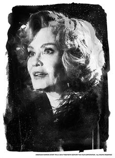 "American Horror Story - David Mahoney - ''Jessica'' ---- ""American Horror Story"" art show at Hero Complex Gallery (2015-10) #AHS"