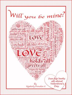 Check out these flip books just in time for Valentine's Day AND half  price until 9 pm (central time) Feb.7th.