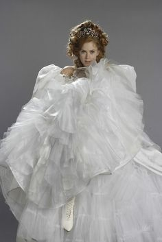 Amy Adams (Giselle): Enchanted - this dress cracked me up! :)
